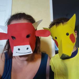 tabliers masque