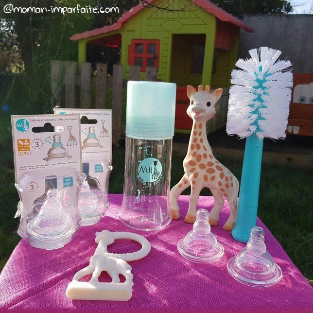 Biberons Mii Sophie La Girafe 5