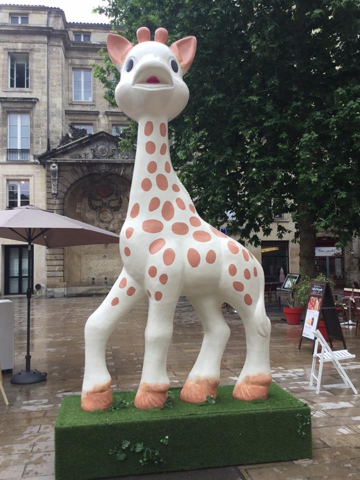 Sophie la girafe géante